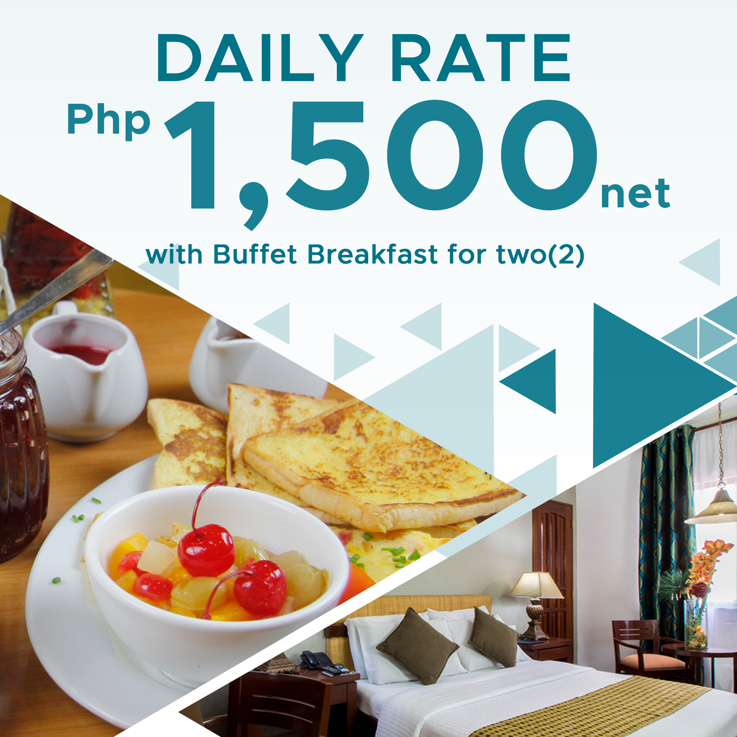 Daily Rate P1,500